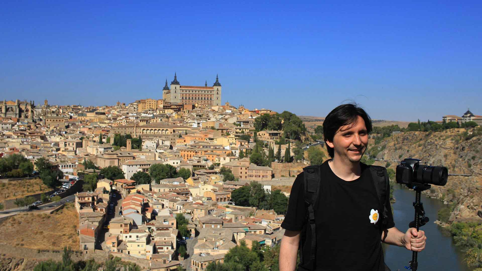Nico Beaumont filmmmaker in Toledo, Spain